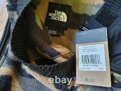 NWT Mens THE NORTH FACE 95 Retro Fleece Pants size large NF0A3XCGFQ9 camo