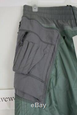 NWT NIKE NRG ISPA Mens Tactical Pants Wolf Grey Green CD6369-012 SZ M NikeLab