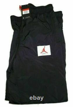 NWT Nike Air Jordan Wings Of Flight Woven Pants Men's BV1136 010 Size XL