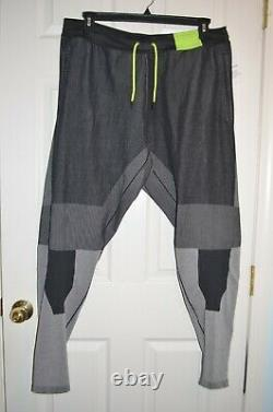 NWT Nike Sportswear Tech Pack Knit Jogger Pants Sz XXL Black/Grey AR1589-010
