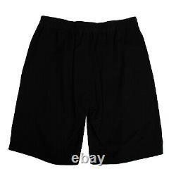 NWT RICK OWENS Black Karloff Drawstring Short Pants Size XL/54 $780