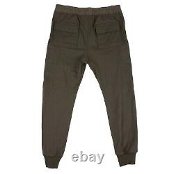 NWT RICK OWENS Dust Brown Cargo Jogger Pants Size XL/54 $1120