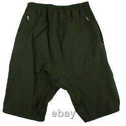 NWT RICK OWENS Forest Green Basket Swinger Short Pants Size L/52 $740