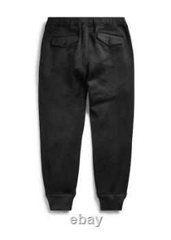 NWT RRL Ralph Lauren Navy Trainers Viscose Wool Sweatpant Jogger Men's M NWT