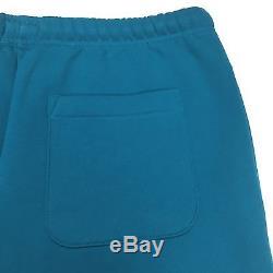 NWT Supreme x Champion Men's Teal Logo Jogger Pants Sweatpants SS17 M AUTHENTIC