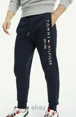 Neu Tommy Hilfiger Jogger Sweatpants Baumwolle Jogginghose Sporthose navy