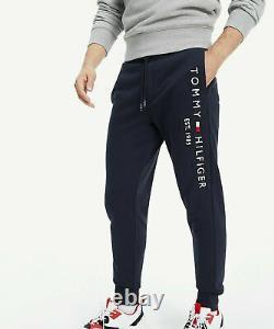 Neu Tommy Hilfiger Jogger Sweatpants Baumwolle Jogginghose Sporthose schwarz