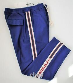 New Authentic GUCCI Side-Stripe JOGGER TRACK SWEAT PANTS EUR-48 US-34/35 M
