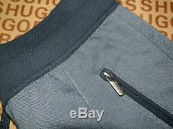 New Hugo Boss mens grey athleisure trouser tracksuit bottoms pants Medium £109