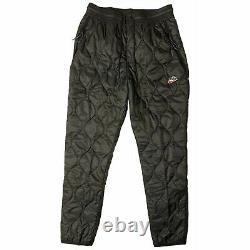 New Nike Men's Heritage Winterized Thermore Pants Size Large CU4448-010 Black