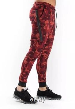 New Nike Men's Sportswear Tech Fleece Camo Jogger Pants 823499-674 sz 3xl