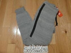 New Nike Tech Fleece Pants 2.0 Grey Marl Jogger Sweatpants Size Small