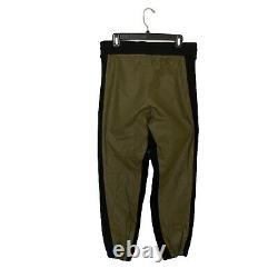 New Yeezy Season 3 Tyvek Jogger Pants Size Medium Military Shade
