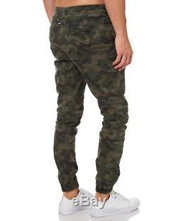 New Zanerobe Men's Sureshot Mens Jogger Pant Cotton Elastane Green