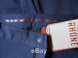New men's RHONE Commuter Jogger Pants Navy Blue, Size 30, japanese stretch knit