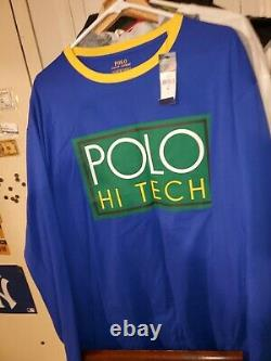 New withTag Polo Ralph Lauren Hi Tech Hybrid Pant Jogger Navy Size XXL MSRP $198