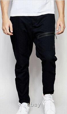Nike 32 The One Woven Black Tech Fleece Pant Jogger Lab NSW V442 33 Large Bonded