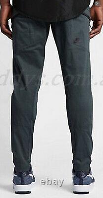 Nike 34 Bonded Woven Tech Fleece Pants Jogger Lab NSW V442 Green Blue 36 Large