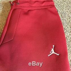 Nike Air Jordan OU Oklahoma Sooners Tech Fleece Pants Joggers Men's XXL New