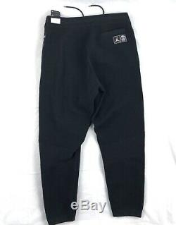 Nike Air Jordan PSG Paris Saint Germain Knit Pants Black BQ4220-010 Men's XL