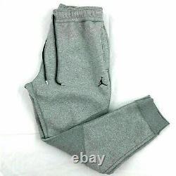 Nike Air Jordan Wings Fleece Pants Men's CD8739-091 Carbon Grey Black Jumpman