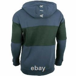 Nike Air Mens Fleece Tracksuit Full Set Navy Hoodie Joggers Track pants Bottoms