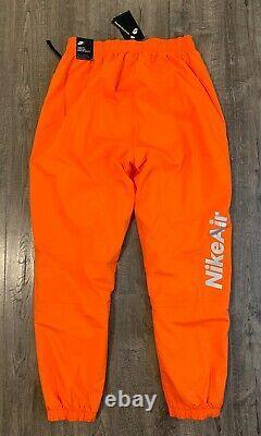 Nike Air Woven Pants Sport Utility Reflective Men's Large L Orange CU4143-837