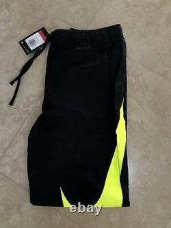 Nike Big Swoosh Sweatpants Rare Black / Volt Joggers Off white L presto acronym