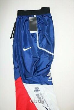 Nike Brs Men Running Track Joggers Pants Trousers Blue Void Bv0196-492 M L XL