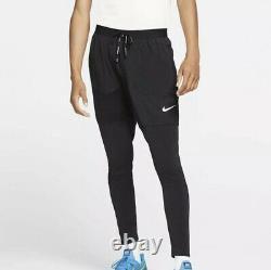Nike Dri-Fit Phenom Knit Woven Men's Sz Small S Joggers Pants Black BV4837-010