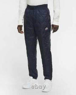 Nike Heritage Winterized Thermore Pants Size Small Men Joggers Navy CU4448-010