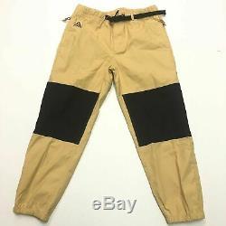 Nike Lab ACG Trail Pants Joggers Pant Club Gold Black CD4540-723 Men's M Medium