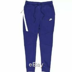 Nike Men Size L Sportswear Tech Fleece Joggers Pants Regency Purple 805162 590