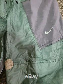 Nike Men's NRG ISPA Adjustable Pants Sz Large Lite Grey Green CD6369 012