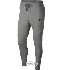 Nike Men's Sportswear TECH FLEECE Pants Grey/Black 805162-063 c