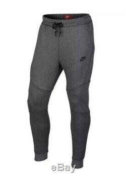 Nike Men's Sz Large SPORTSWEAR TECH FLEECE JOGGERS Gray 805162 091 pants