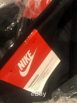 Nike Men's Tech Fleece Pants 2.0 Black Winterized Joggers 700769-010 Sz Medium