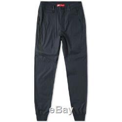 Nike Men's Tech Pack Jogger Bonded Woven Pants Black 823363-010 Size 36 Slim Fit