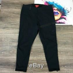 Nike Men's Tech The One Black Tapered Jogger Commuter Pants Size 36 727344 010