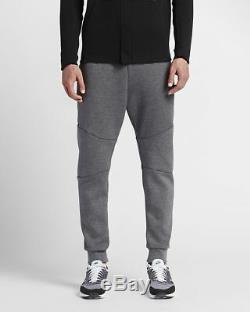 Nike Men's XL SPORTSWEAR TECH FLEECE JOGGERS Gray 805162 091 pants