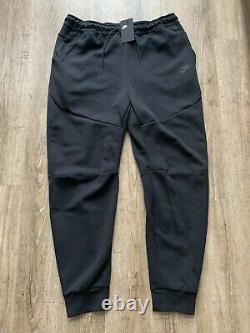 Nike Mens Black Sportswear Tech Fleece Jogger Sweatpants 3XL TALL CU4495-010