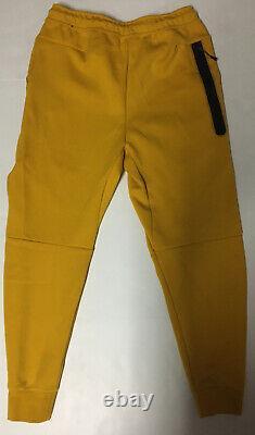 Nike Mens Sportswear Tech Fleece Jogger Sweatpants Sz Med CU4495-743 Dark Sulfur