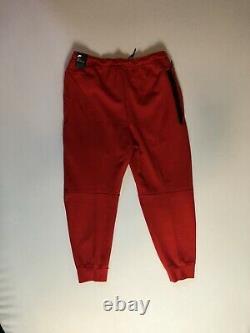 Nike Mens Sportswear Tech Fleece Pants Jogger Gym Red CU4495-657 Size XL