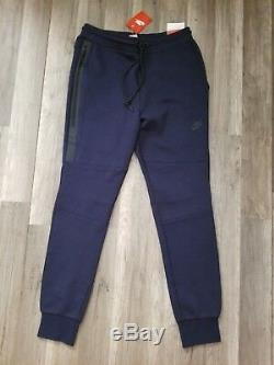 Nike Mens Tech Fleece Jogger Pants Obsidian/Navy 545343-474 Size M