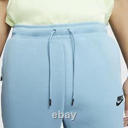 Nike Mens Tech Fleece Pants Jogger Blue Cerulean White Size S M L XL 805162-425