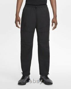 Nike Mens Woven Sportswear Tech Pack Pant Black CU3761-010 Size XL
