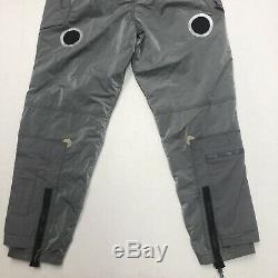Nike NRG ISPA Adjustable Tactical Pants Light Grey Green CD6369-012 Mens XL