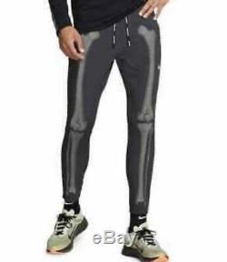 Nike NRG Skeleton Bones Dri-Fit Men Running Pants jogger 3M Reflective CD6403 XL