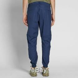Nike NSW Bonded Woven Slim Fit Obsidian Blue Black Joggers Pants 823363-451 Men