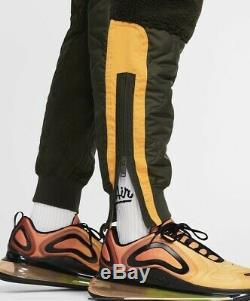 Nike NSW Sportswear Fleece Joggers pants Green BV4607-355 Mens L $120